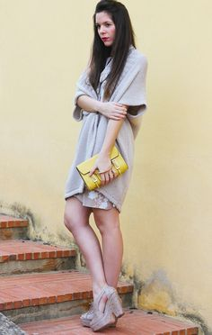 Be yellow!  #outfit, Coccinelle in Bags, kenzo in Heels / Wedges
