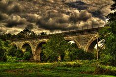 5 arch railroad bridge