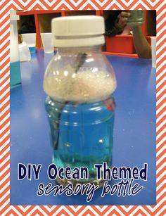 DIY Ocean Themed Sensory Bottle