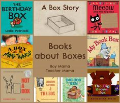 Boy Mama Teacher Mama  | Books About Boxes