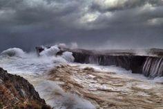 La ferocidad de la última tempestad que asolo el Cantábrico, dejo ...