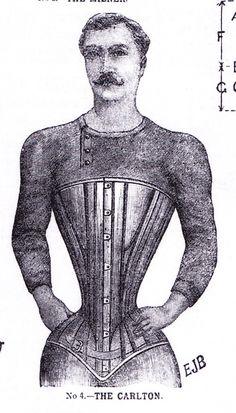 corset for men!