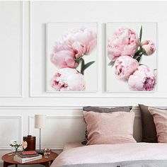 Peonies Print Peony Wall Decor Pink Peonies Print Wall Art Flower Print, Peonies Photo, Gift for Her