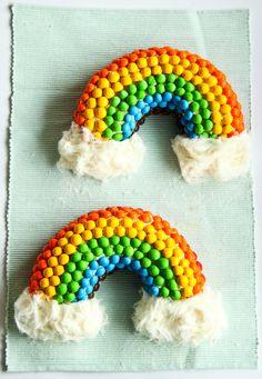 bundt cakes, cupcak, cotton candy, double rainbow, rainbow cakes, rainbows, cloud, parti, birthday cakes