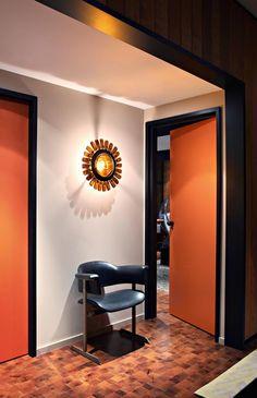 *retro, orange, light