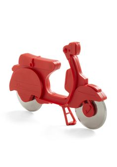 Scooter pizza cutter!