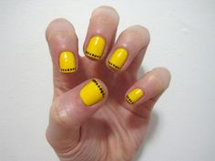Yellow nail polish can actually work???