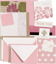 Thank You Card Making Kit - A new craft project for the whole family!