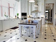 Great Ideas for Kitchen Flooring - Wiseman