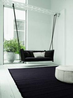 #modern indoor porch swing