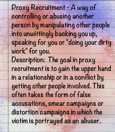 Doing his dirty work for him. Often attacking others or making excuses. Also doing more than your fair share or anything else the NARC finds boring.