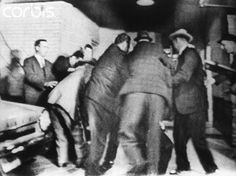 11/24/63 - Dallas Police scuffle to subdue Jack Ruby after shooting Lee Harvey Oswald.