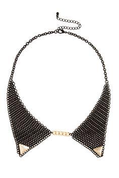 ASOS mesh collar necklace