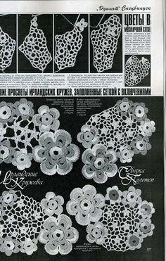 Duplet Special XXL Release Irish Laces 8 Russian crochet patterns magazine