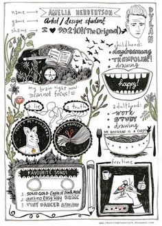 The Scribble Project by amelia herbertson, via Flickr
