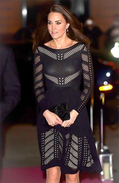 The Duchess of Cambridge arriving at the Action on Addiction Autumn Gala Evening at L'Anima