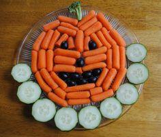 Carrot Jack O'Lanterns