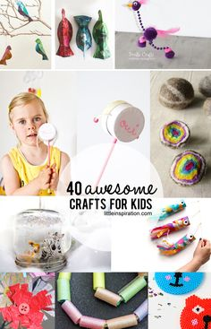 40 Awesome Crafts for Kids!