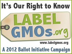 Over 90% of us want our foods labeled. We believe our right to know what we are buying and feeding ourselves and our kids supersedes corporate rights to a nontransparent profit.     Please join us in what many are calling our last fight to get labeling.  This is it.  We estimate a huge media campaign of misinformation, twisting facts and outright lies.  They may have huge financial resources, but they don't have us.  We need all of you with us in an active way.
