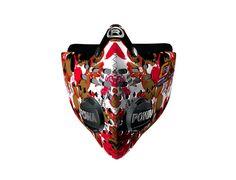 Respro® Skins™ pollution mask - PETAL Red #matchyourstyle