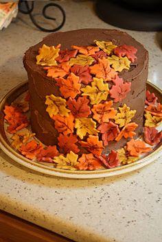 Chocolate Fall Cake