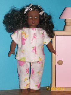 American Girl Mini Doll Pajamas.