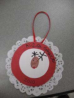 Cute Reindeer Ornament