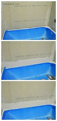 how to tile a tub su