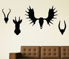 Antler Wall Decal