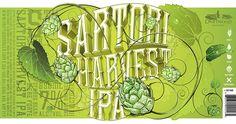 Hired Guns Creativehas designed British Columbia's mosthighly-anticipated  beer release:Sartori Harvest IPA.