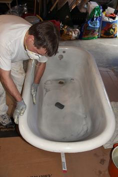 Clawfoot Tub Restorations @Melissa Squires Squires Anderson