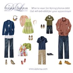What to Wear for Family Photos.