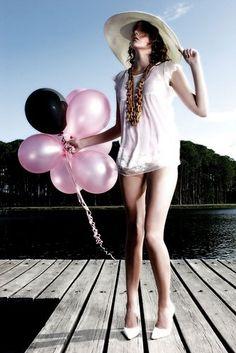ballons, balloon, balloon lady, balloons, beauty, girl