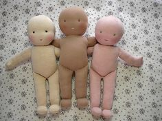Great doll making tutorial. Always wanted to try it....
