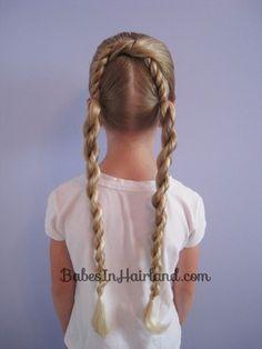 Half Knot & Rope Braids from BabesInHairland.com