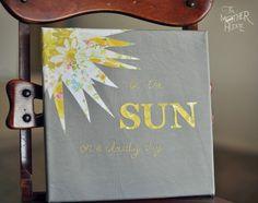 #DIY be the sun artwork #ROAK