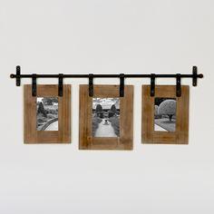 Jacob 3-Photo Wall Frame