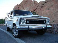 #Classic 1977 Jeep #Wagoneer
