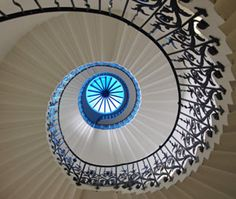 Tulip Stairs in the Queen's House, Greenwich, England