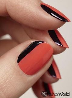 How to make sexy nail design | FASHION WORLD