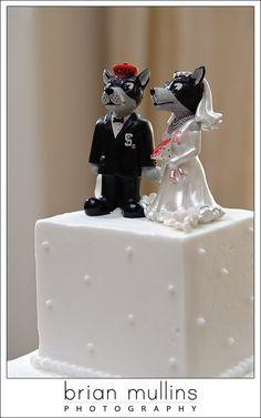 NCSU Wedding Cake