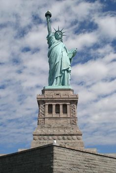 Statue of Liberty ~ Be there in November :)