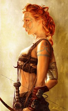 Scaran woman of the Phalynx.