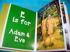 Printable Gospel ABC Book