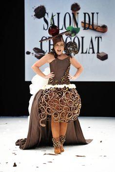 Paris' Parade of Chocolate Dresses #5