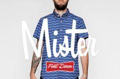 Mister Television by Font Diner - Desktop Font, WebFont and Mobile Font available at YouWorkForThem.