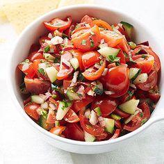 Cherry Tomato Pico De Gallo