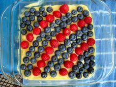 4th of July #paleo Lemon Fruit Tart