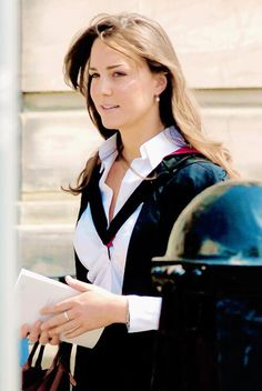 kate middleton at her graduation in 2005