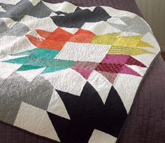 Spiced Chai Quilt from Vintage Quilt Revival vintage quilts, vintag quilt, vintage quilt revival, quilt patterns, color, spiced chai quilt, vintage modern quilt